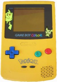 Game Boy Color Yellow