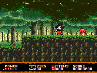 » Sega MegaDrive, 32x » Castle of Illusion Starring Mickey Mouse