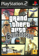 PS2 - Grand Theft Auto III San Andreas