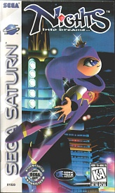 Sega Saturn - NIGHTS Into Dreams