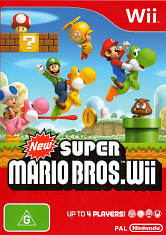 Nintendo Wii - New Super Mario Bros Wii