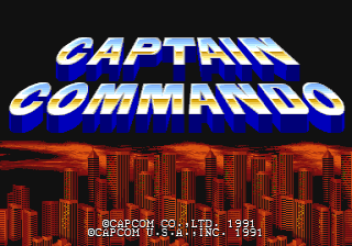 Captain Commando - CPS1