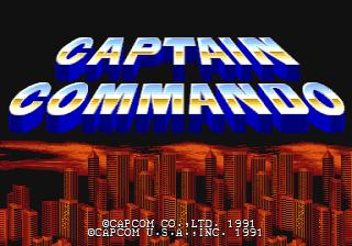 Captain Commando - CPS1