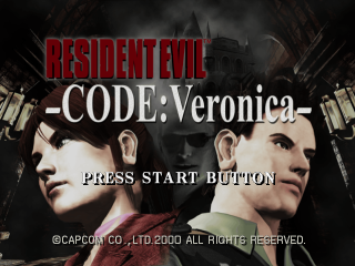 Resident Evil: Code Veronica - Dreamcast