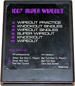 Super Wipeout Cartridge