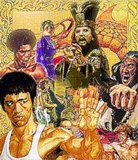 Bruce Lee II Title Screen