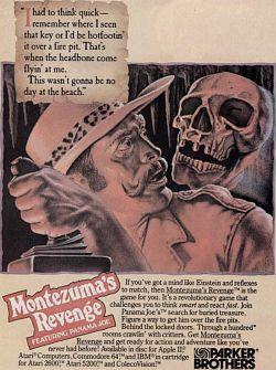 Montezuma's Revenge Adv