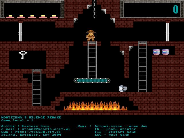 Montezuma's Revenge PC