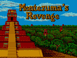 Montezuma's Revenge Sega Master System