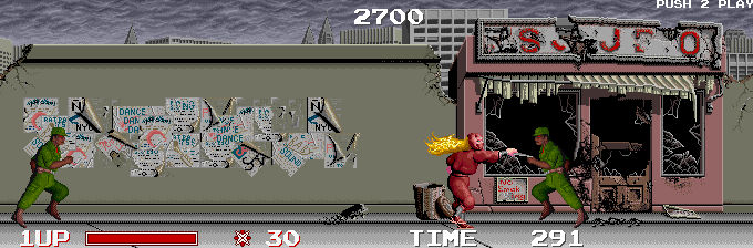 Ninja Warriors Arcade