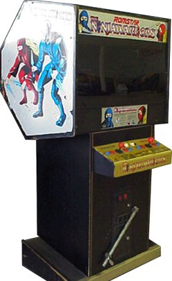 Ninja Warriors Arcade Cabinet