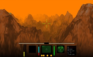Search And Rescue: Fractalus Remake