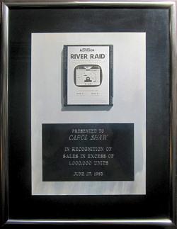 Carol Shaw Award River Raid