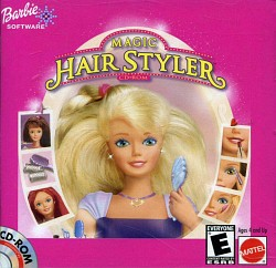 Barbie Magic Hair Style